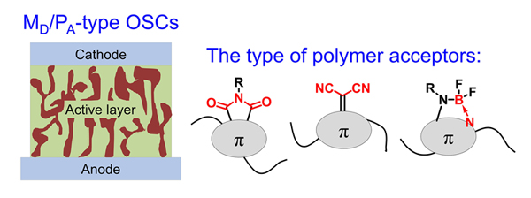 Research Progress in Organic Solar Cells Based on Small Molecule Donors and Polymer Acceptors