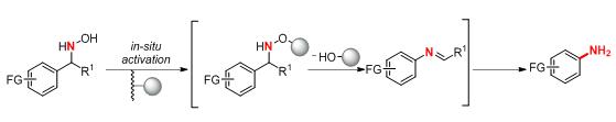 From Hydroxylamines to Anilines via TFAA Assisted Stieglitz Rearrangement
